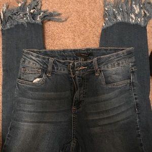 Skinny jeans, lightly worn